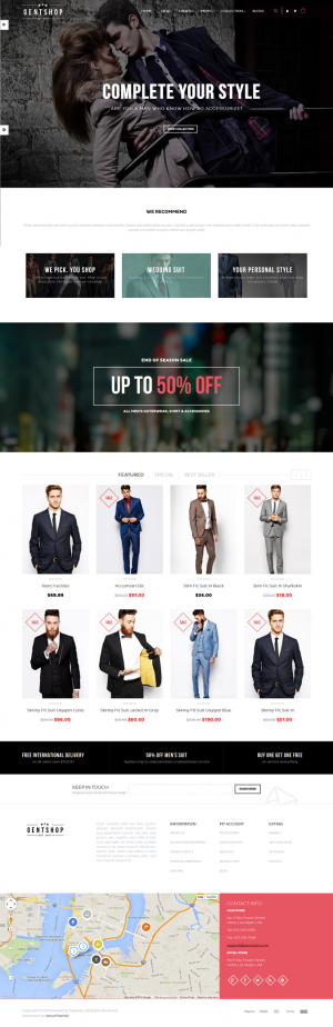 Ves GentShop is an new premium Magento Theme suitable for multipurpose eCommerce website.