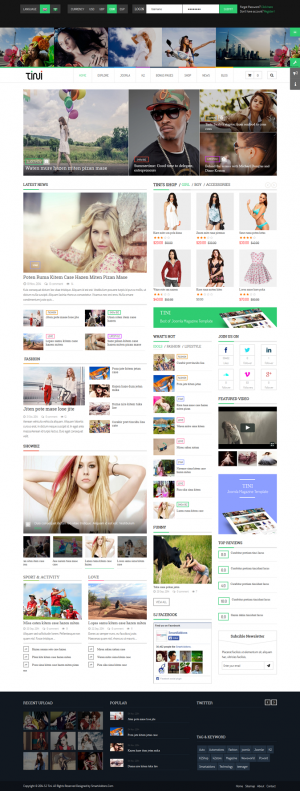In this article, we have collected 13 new best Responsive websites themes of 4th November 2014.
