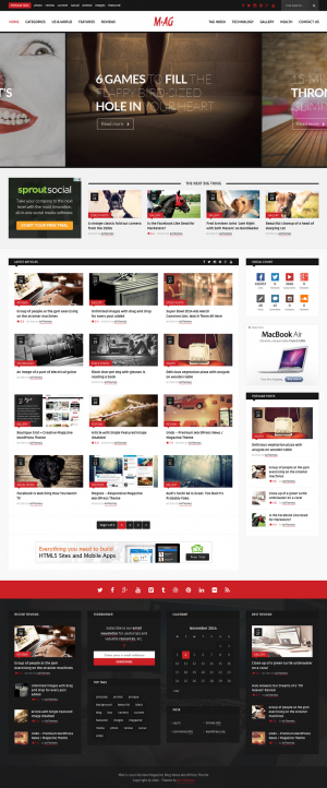 19 New Best Responsive Themes (3rd Nov 2014)
