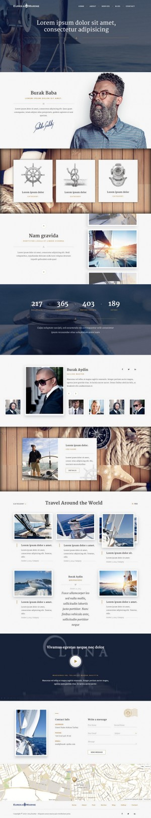 Yacht is a Lifestyle template. But you can also use as blog or corporate template. It's built on ...