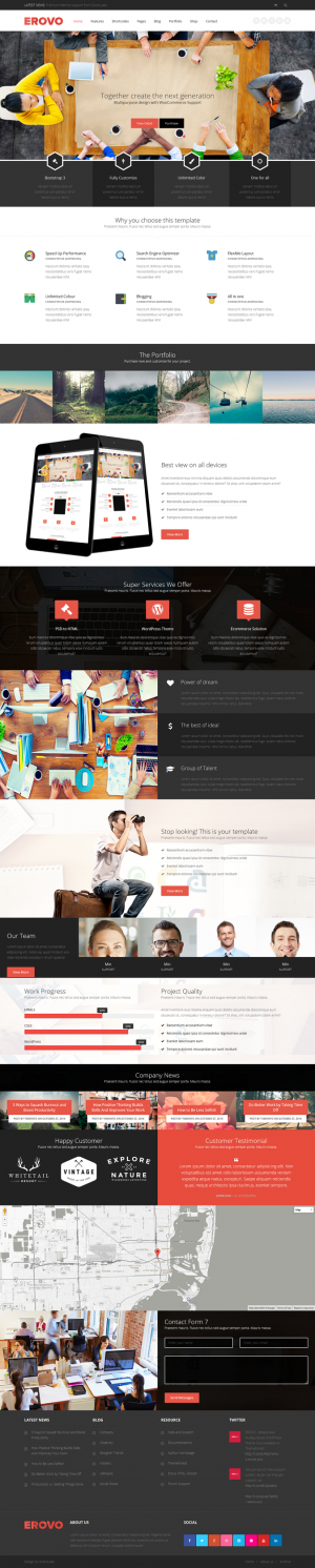Erovo is an best new responsive multipurpose WordPress Theme. This theme supports WooCommerce pl ...