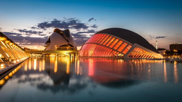 City of Arts and Sciences – Photography Wallpapers