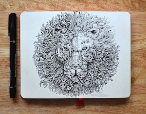 Incredible Doodle Art of Kerby Rosanes | Downgraf