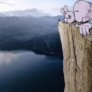 Lucas Levitan Adds Cartoons to Photographs | Downgraf