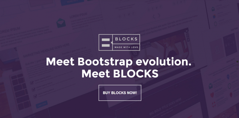 BLOCKS framework Bootstrap Evolution