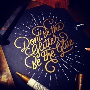 Stunning Hand Lettering by Wells Collins | Downgraf