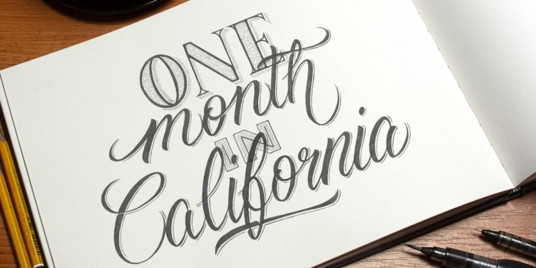 One Month in California