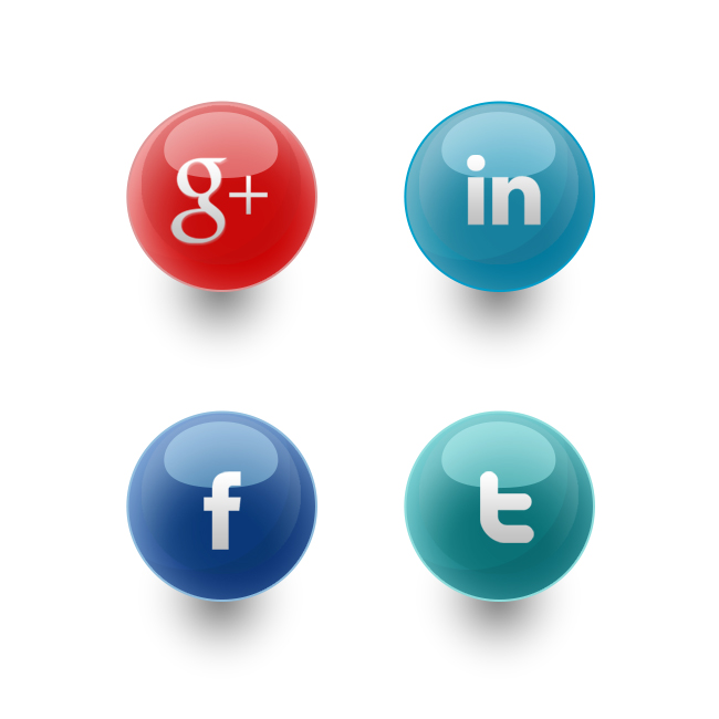 A quick #freebie – Social media #icons I designed – Feel free to download and use as ...