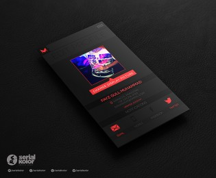 music & lyrics is the conceptual ui/app design.for more: https://www.behance.net/gallery/22 ...