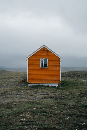 Iceland Road Trip Rescue hut in Arnarbæli, Iceland