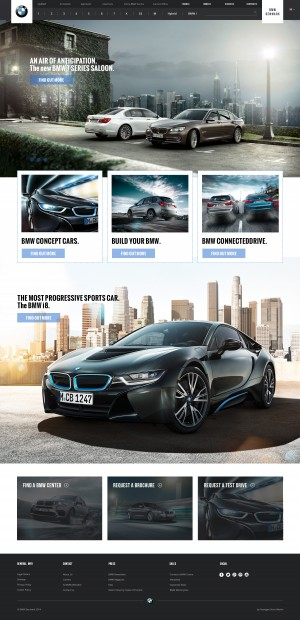 BMW Website Re-design