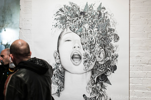 Exploding face (2014)
