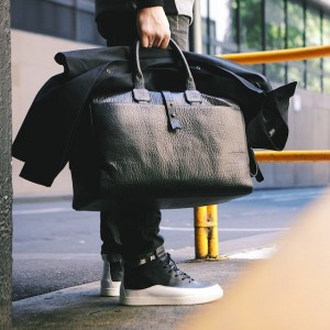 Leather Day Bag by Parabellum