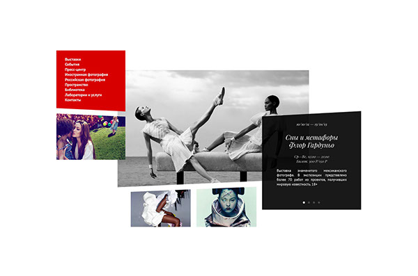 Gallery of Classic Photography Website by Serge Vasil
