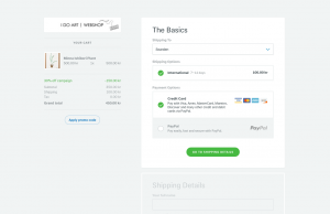 Tictail Checkout by Petter Nilsson