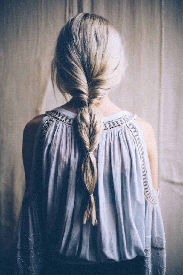 because im addicted | How to Fake A Fishtail Braid