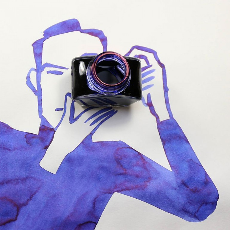 Creative Drawings Completed Using Everyday Objects By Christoph Niemann