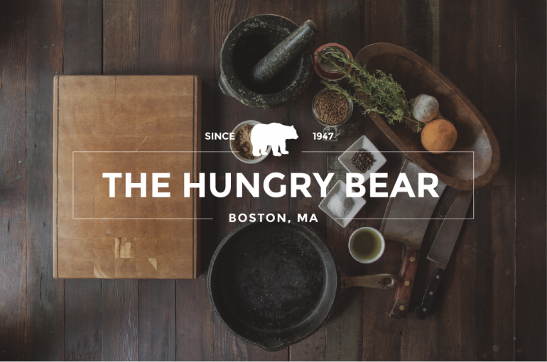 The Hungry Bear Logo design