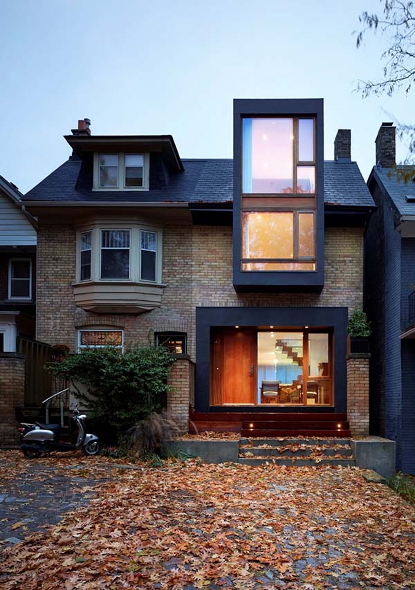 Renovation of a semi-detached home in Toronto