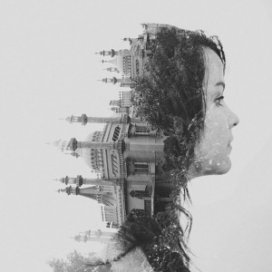 Surreal Double Exposure Photography