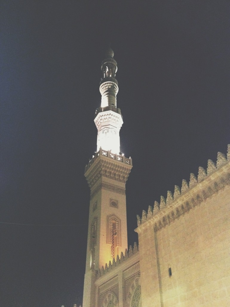 Elsayed elbadawy #mosque #tanta #egypt #night #winter