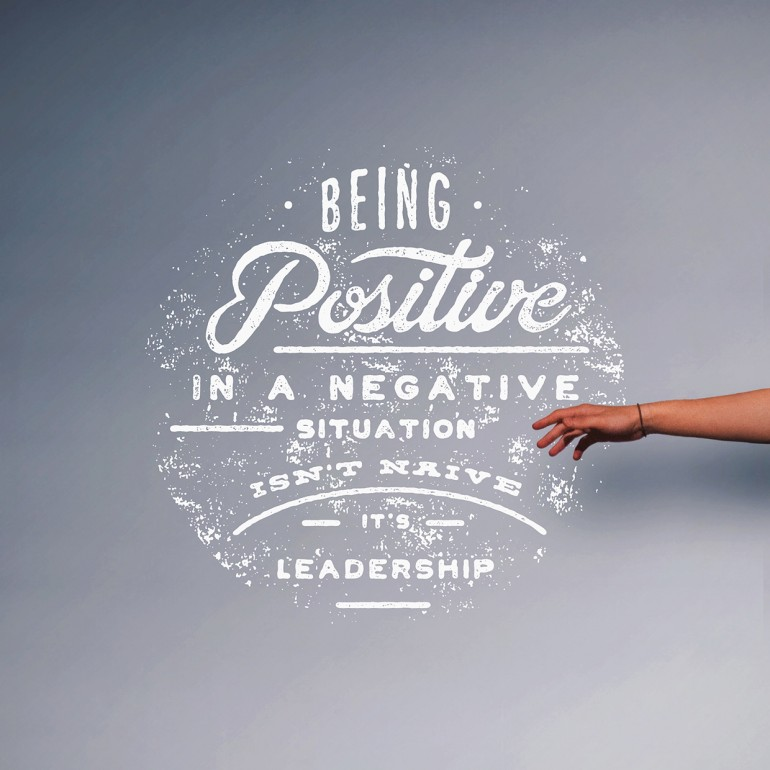 Being Positive