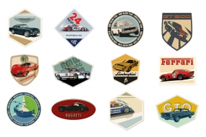 Vintage Automotive Badges