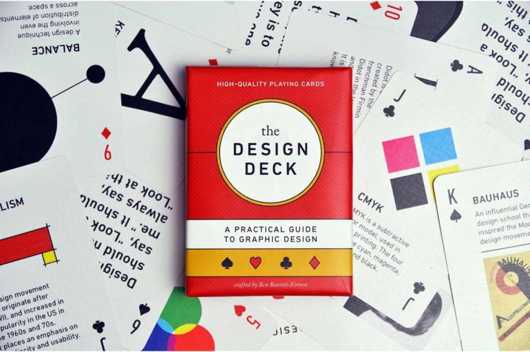The Design Deck: Playing Cards for Designers