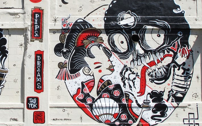 Walls Art by the Yok and Sheryo