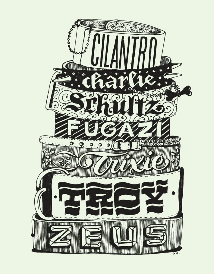 Creative Type Designs by Gemma O'Brien