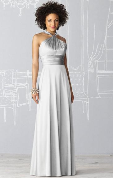 For Girls Silver Bridesmaid Dress From Queeniebridesmaid.