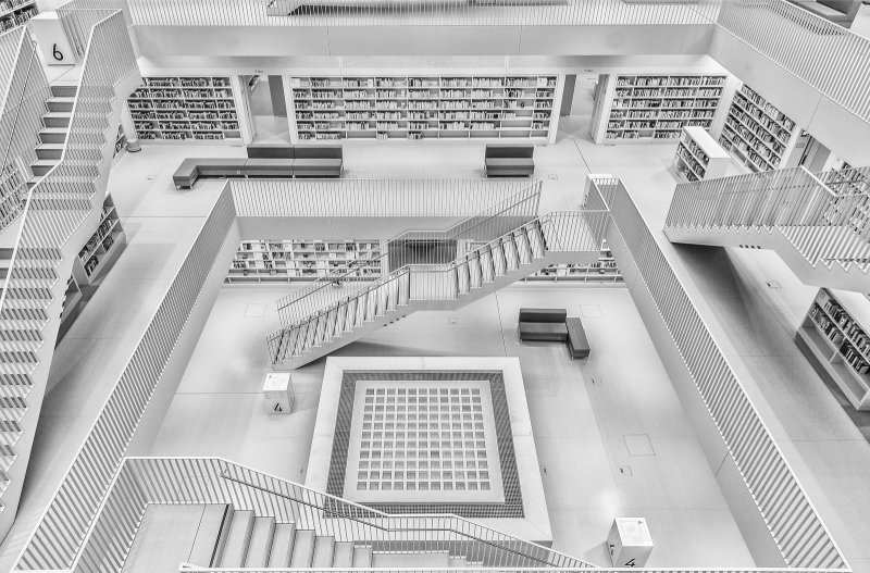Creative Black and White Architecture Photographs by Manuela Martin