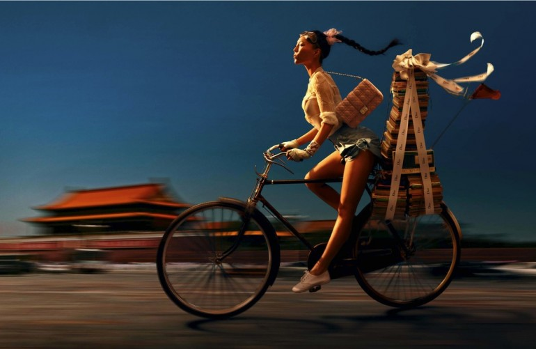 Gorgeous Chinese Fashion Photography by Chen Man