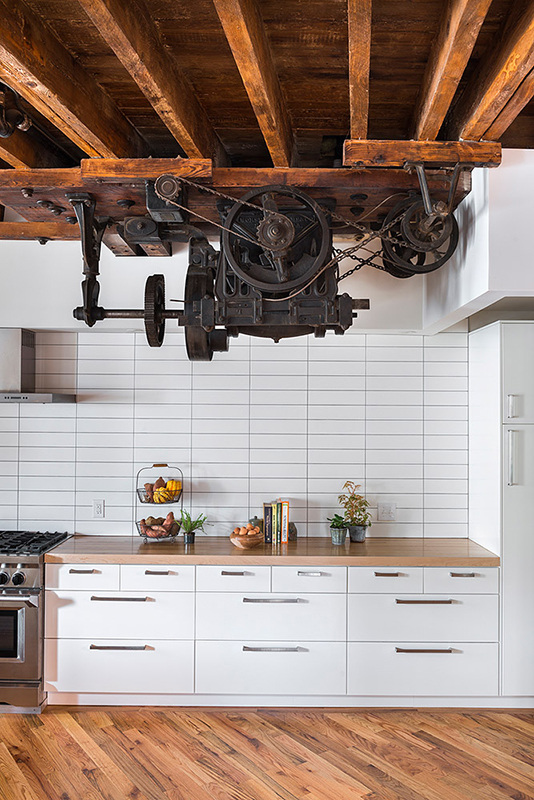 Pickle Factory: 1880's warehouse turned live-work studio