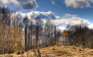 Radioactive Sign in Chernobyl – Photography Wallpapers