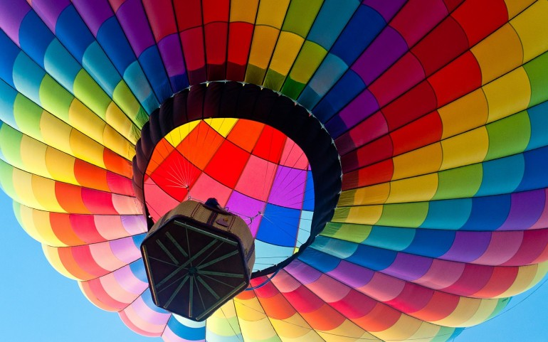 Colorful Hot Air Balloon – Photography Wallpapers