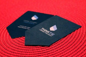 Think Tie Business Card