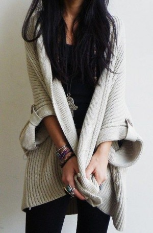 Cute knitted cardigan is must have this autumn. Latest fall arrivals 2015.