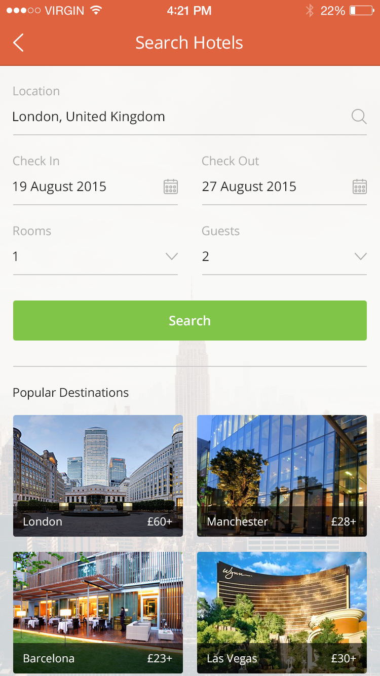 Search Hotels by Aqib Mushtaq