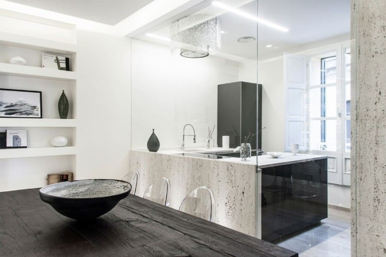 Interior renovation work in a historic building: CBB House