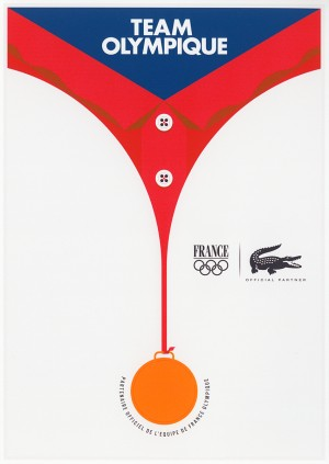 Lacoste Olympic Posters Mike Lemanski