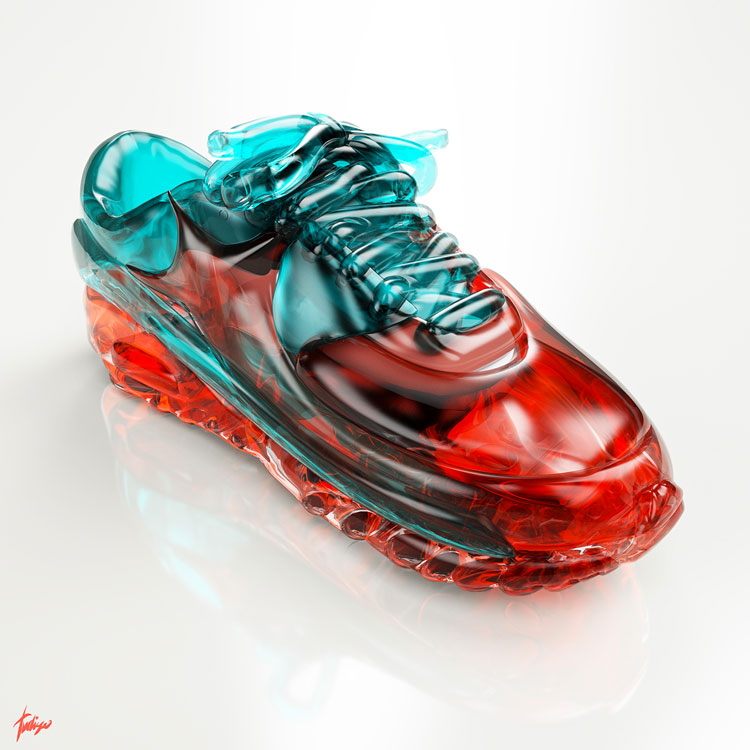SNEAKERS, superb 3D project by Antoni Tudisco