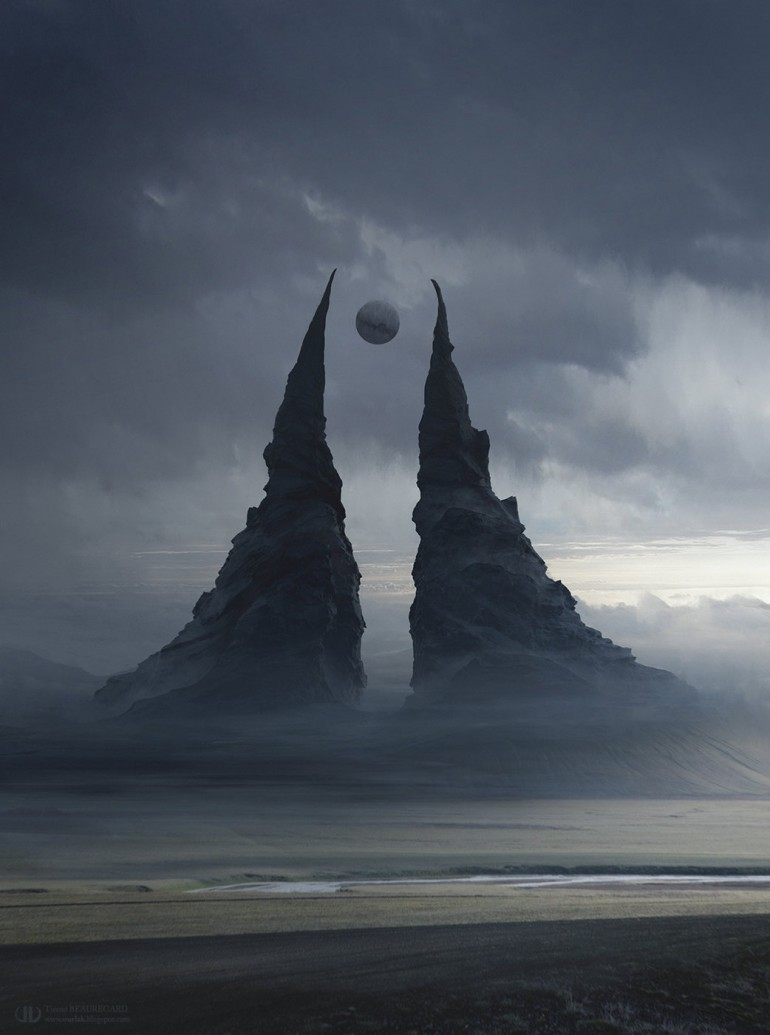 """""""Balance"""" Behind the seventh valley, the twins. Symbol of perfect balance."""