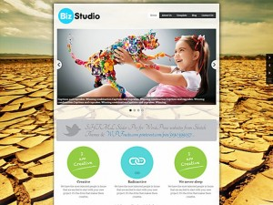 WordPress › BizStudio Lite « Free WordPress Themes | Free WordPress Themes | Pinterest