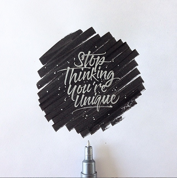 Stop Thinking You're Unique