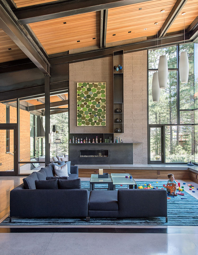 Architectural harmony and modern design for a custom family home