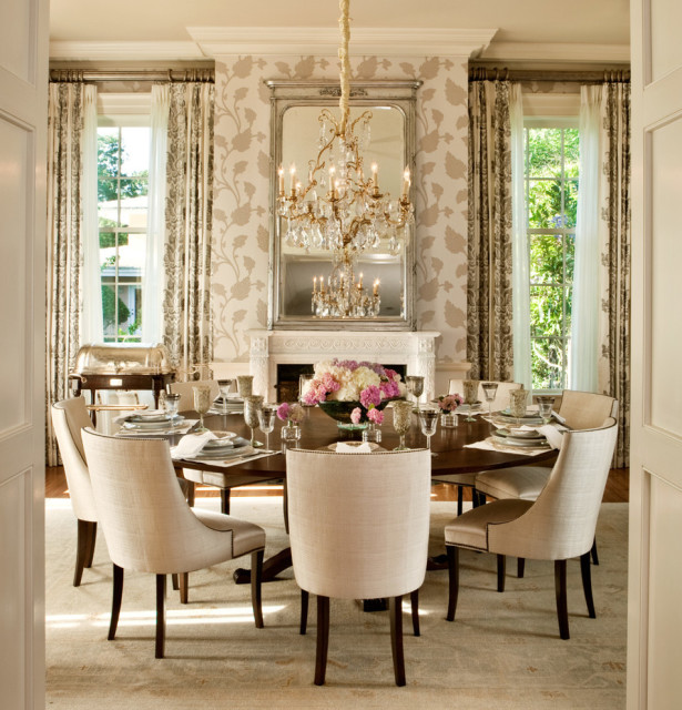 Best High Dining Room Chandelier Layout with Fireplaces