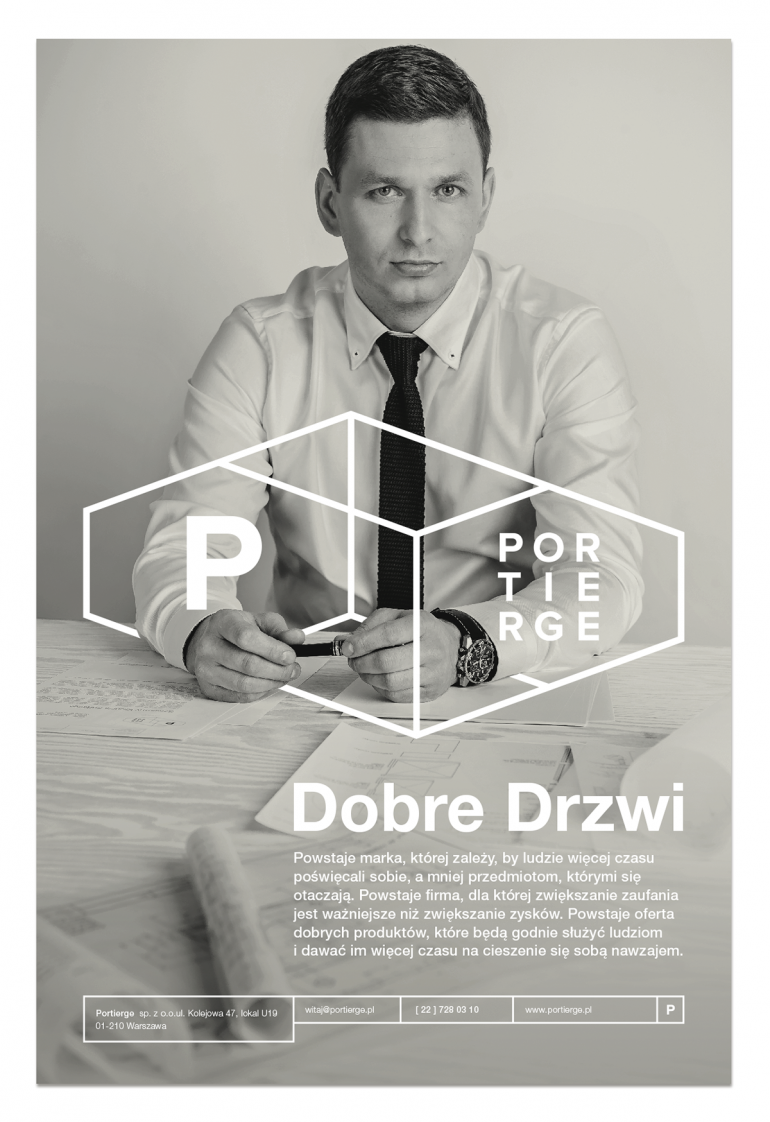 Brand and corporate design for Portierge