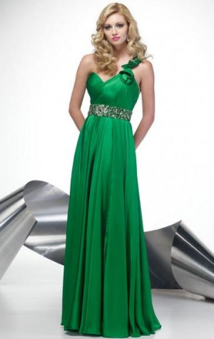 Hot Style Green Bridesmaid Dress From Queeniebridesmaid