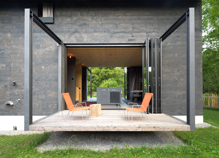 Modernistic Two Storey Bungalow – InteriorZine